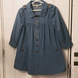 H&M Denim Babydoll jacket